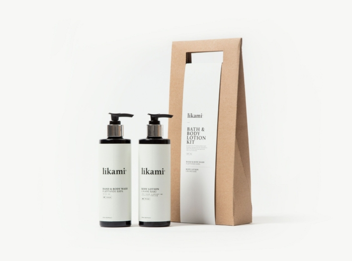 Bath & body lotion kit - Likami