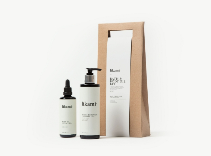 Bath & body oil kit - Likami